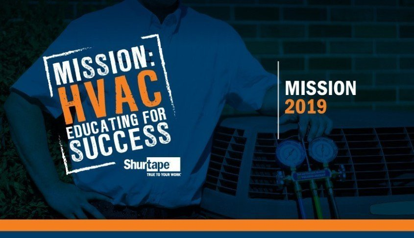 Shurtape Launches Year Five of Mission: HVAC, Educating for Success Program