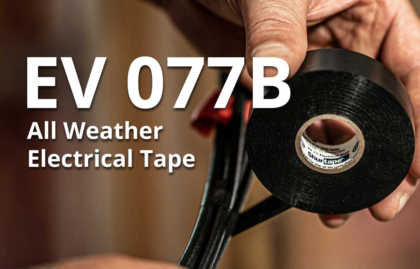 EV 077B All Weather Electrical Tape