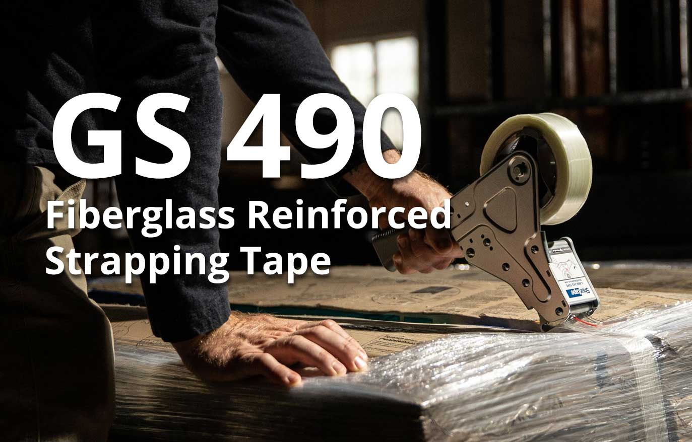 GS 490 Fiberglass Reinforced Strapping Tape