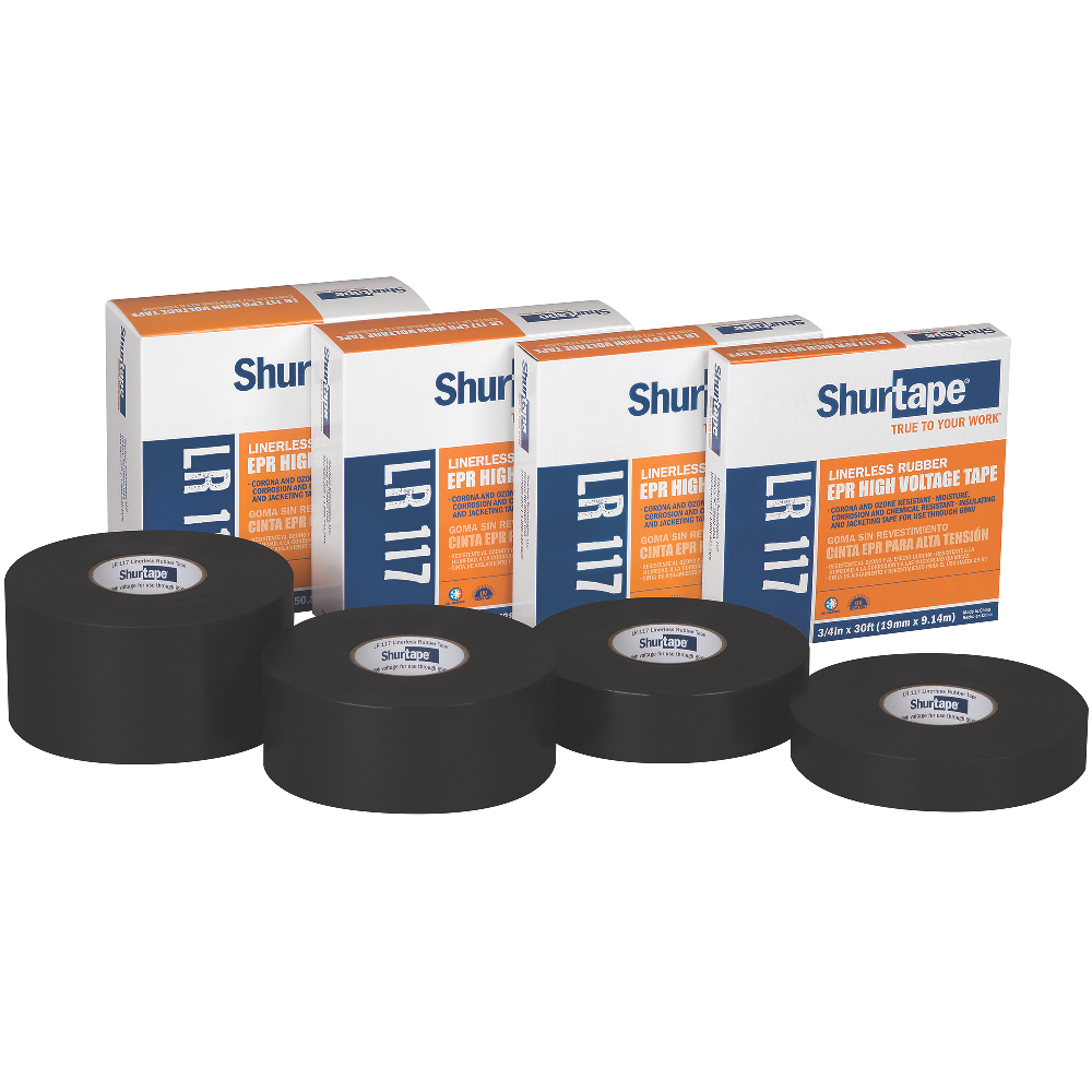 Electrical Tapes | UL Listed & High Voltage | Shurtape