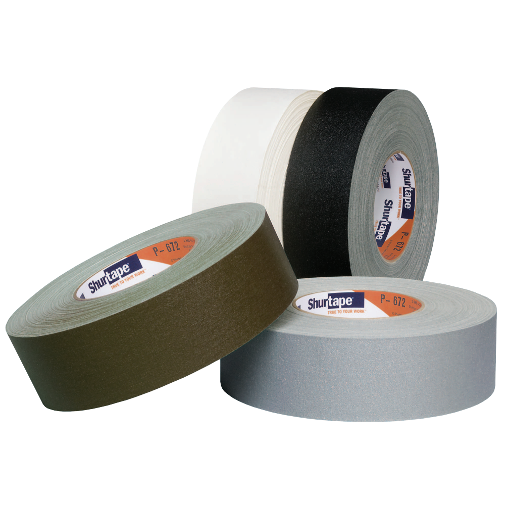 P 672 premium grade light duty gaffers tape shurtape mozeypictures Gallery